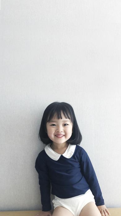 权律二 小女孩 可爱 韩国 萌 笑
