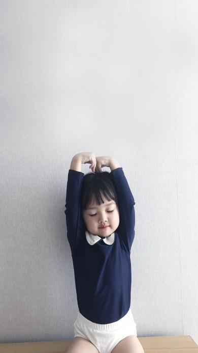 权律二 小女孩 可爱 韩国 萌