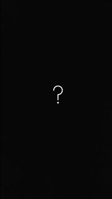 问号 创意 黑白 纯色