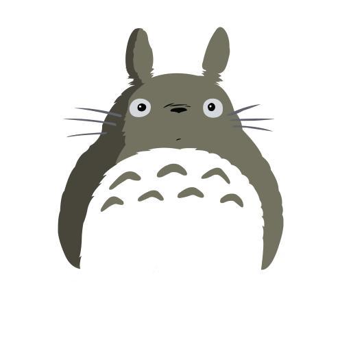 龙猫 动漫 宫崎骏 简约