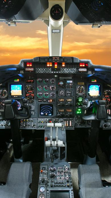 机舱 飞机 驾驶舱 天空 航空 科技