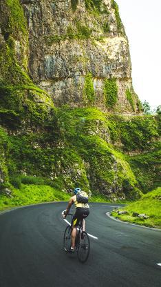 骑行 山路 单车 自行车 运动 挑战
