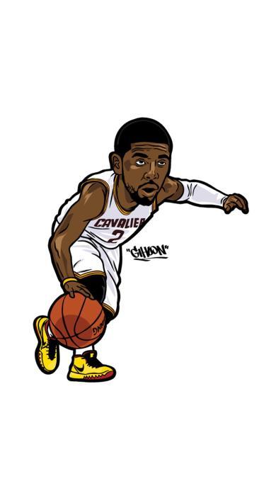 欧文 体育 卡通 篮球