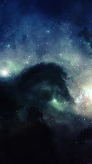 宇宙 星空 梦幻 深邃 太空