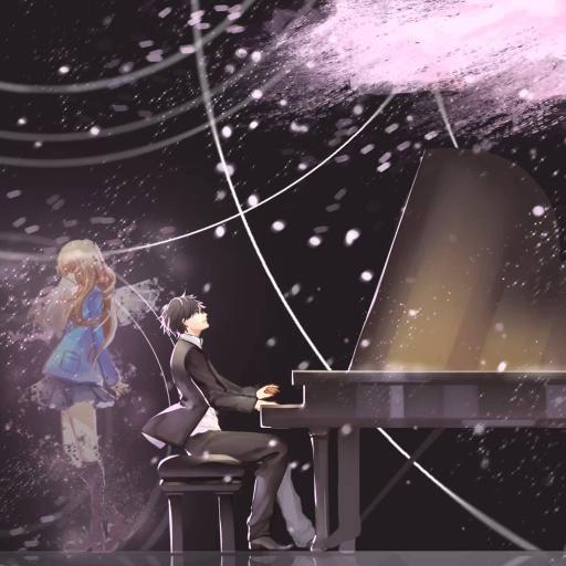 动漫 钢琴 唯美 音乐