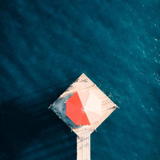 露台 大海 海洋 观景台