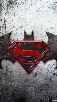 超人大战蝙蝠侠 超级英雄 标志 super 电影