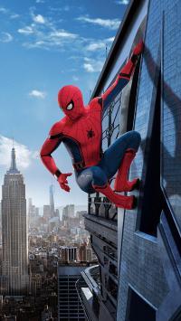 蜘蛛侠 英雄归来 漫威 超级英雄 电影 大厦