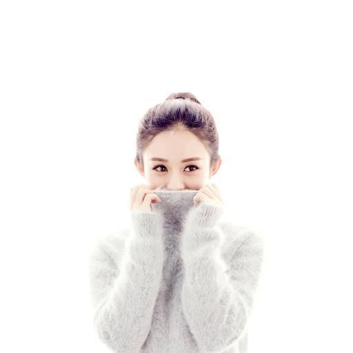 赵丽颖 美女 女生 毛衣
