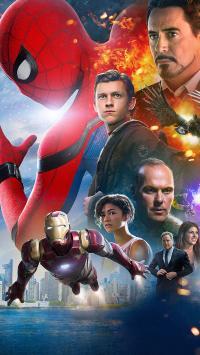 蜘蛛侠 英雄归来 电影 海报 欧美 超级英雄