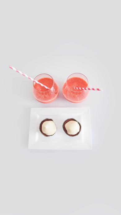 下午茶 果汁 糕点 纸杯蛋糕 甜品 饮品