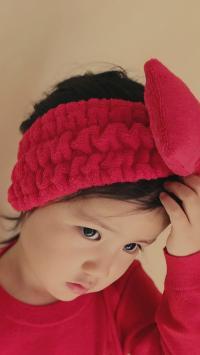 多多妹妹 红色 可爱 小女孩