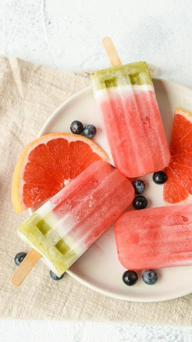 冰棍 西瓜 雪糕 夏日 水果