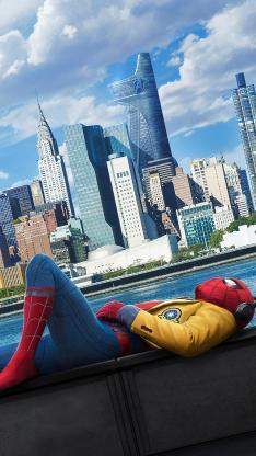 蜘蛛侠 英雄归来 超级英雄 漫威 电影 海报