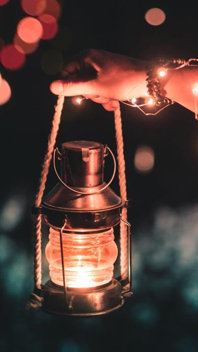 创意 夜晚 灯光 光亮