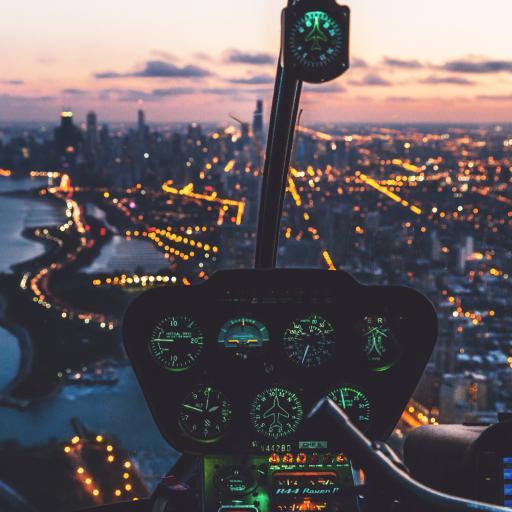 驾驶舱 飞机 仪表 高空 航空 飞行 城市