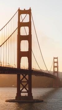金门大桥 旧金山 美国 桥梁
