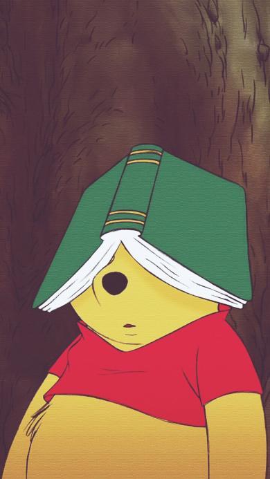 迪士尼动画片 小熊维尼 可爱