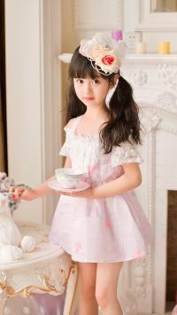 裴佳欣 小女孩 萝莉 可爱 艺术照 儿童