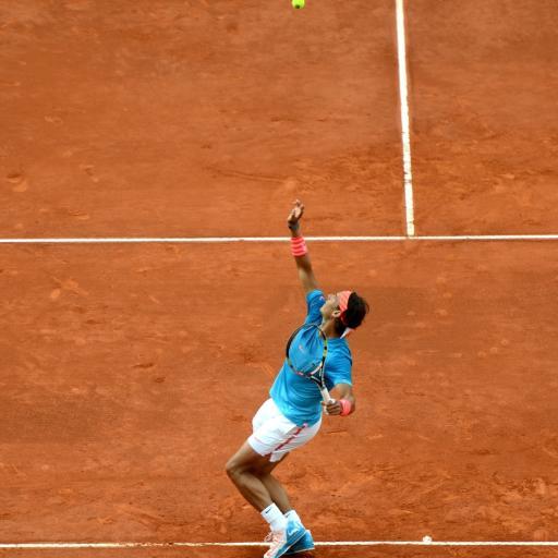 网球 体育 费德勒 红土