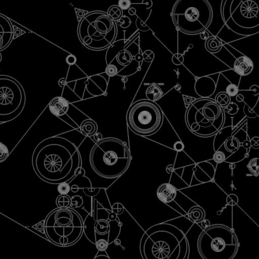 机械 黑白 运作 线 圆圈