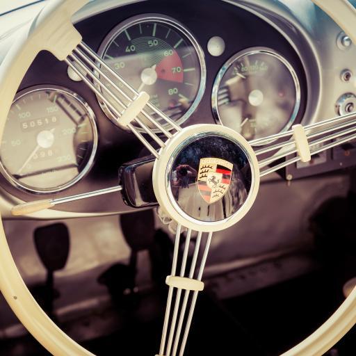 保时捷 方向盘 超级跑车 测速表