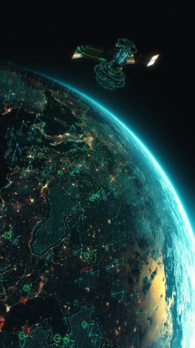 太空 宇宙 地球 飞船  科学 探索