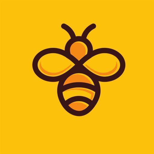 蜜蜂 色彩 黄 简笔画