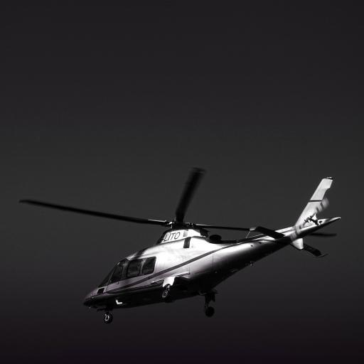 黑白 飞行 直升机 螺旋桨 天空 交通