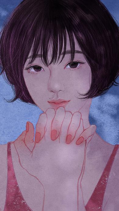 zipcy 韩国插花 女孩 唯美 情侣