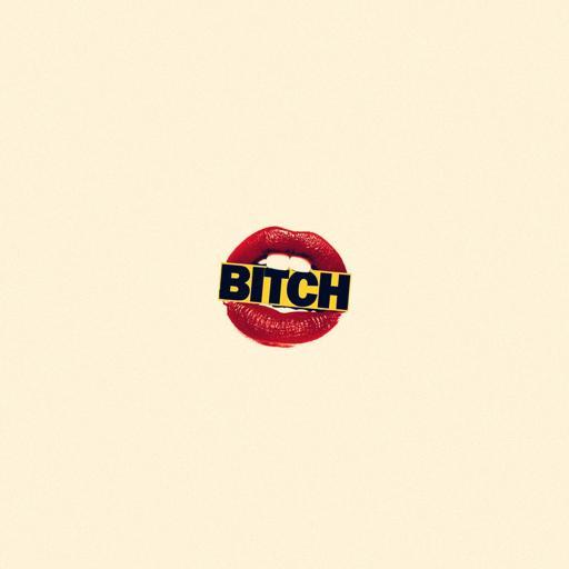 bitch 创意 嘴唇 英文