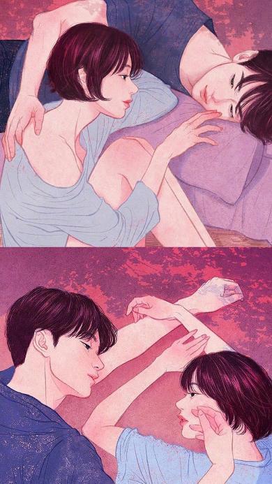 zipcy 韩国插花 男孩 唯美 情侣