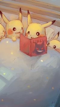 皮卡丘 动漫 宠物小精灵 讲故事