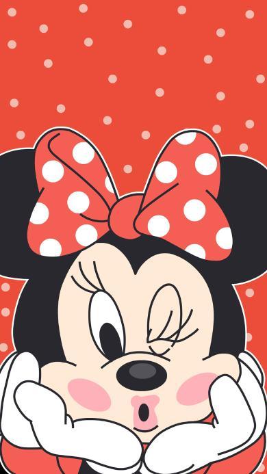 米妮 米老鼠 迪士尼 黑色 卖萌 情侣