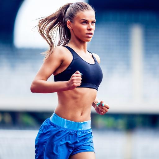 健身 跑步 女生 运动