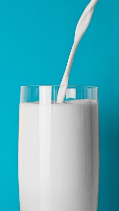 牛奶 饮品 营养 早餐 奶制品 蓝白