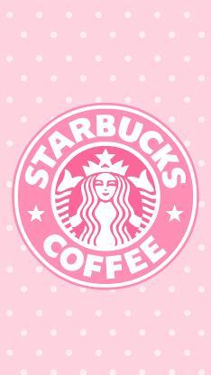 星巴克 粉色 咖啡 品牌 标志 logo