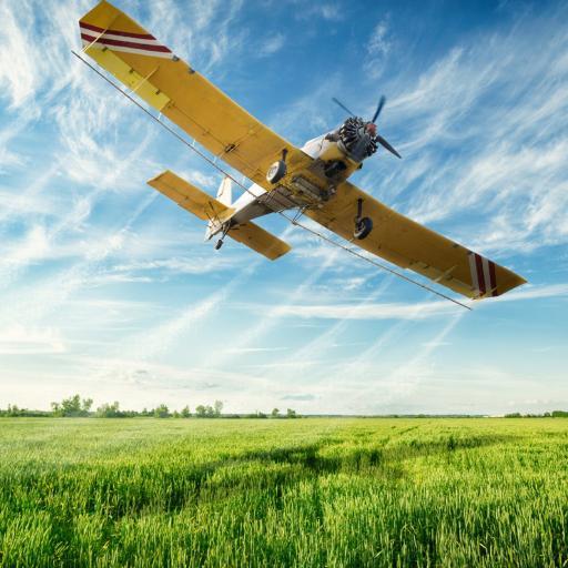 飞机 风景 蓝天 农用