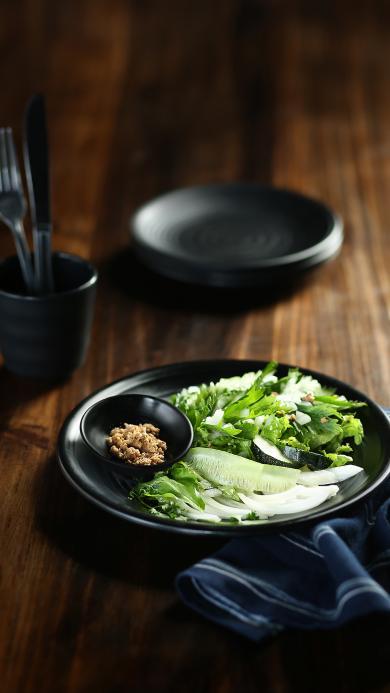 沙拉 蔬菜 素食 简约