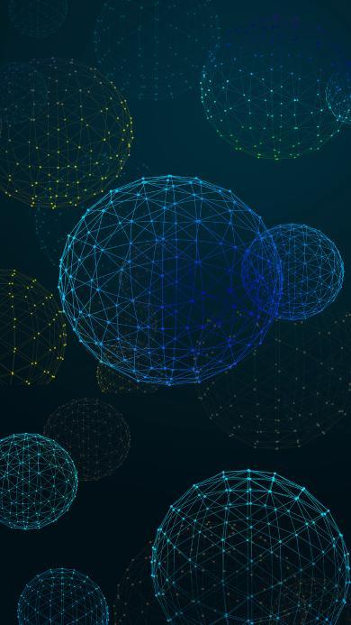 球体 空间 点 线 科技