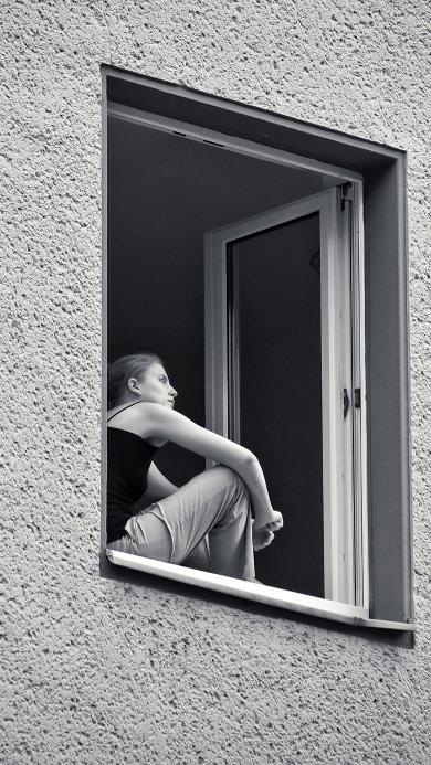 窗台 街头 摄影 思考