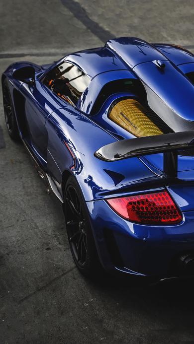跑车 炫酷  蓝色 豪车 赛车 速度