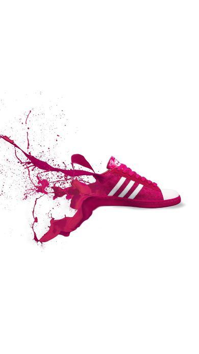 adidas 运动鞋 颜料 体育 品牌