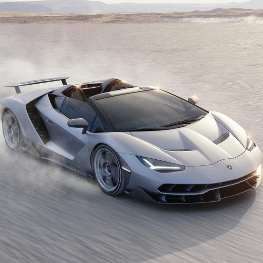 兰博基尼 超级跑车 炫酷 银色 速度