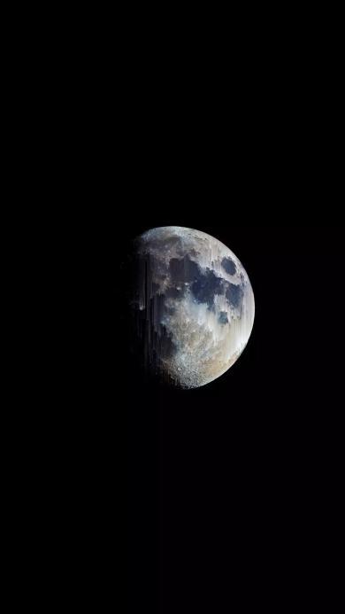 月球 太空 宇宙 神秘