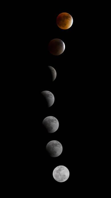 月食 月球 天文 宇宙 太空