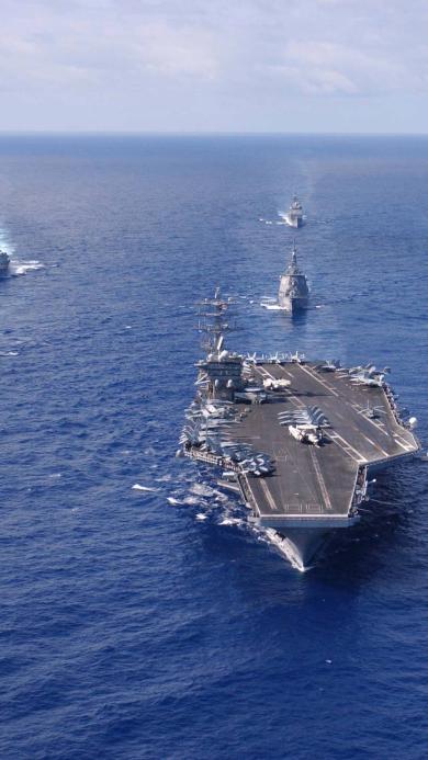 航母 军事 大海 战争
