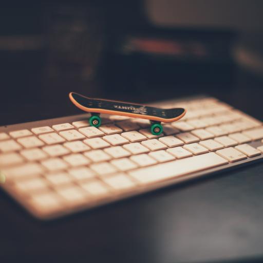 键盘 手指滑板 迷你玩具