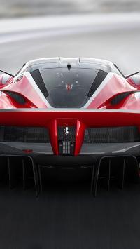 法拉利 超级跑车 赛道 炫酷 红色
