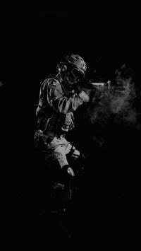 军人 持枪 士兵 军事